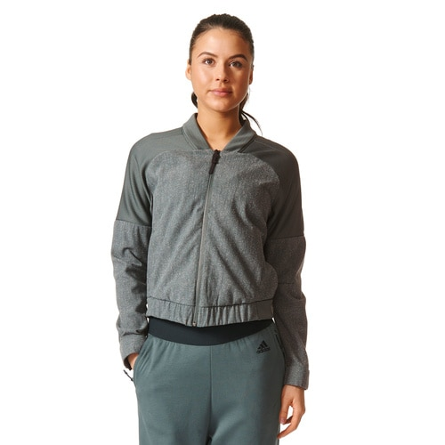 WOMEN'S ADIDAS MIX UP BOMBER TRACK TOP