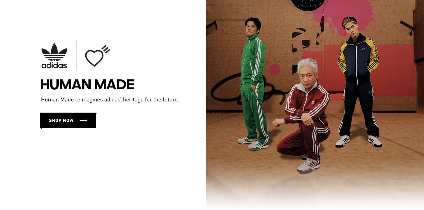 adidas.co.in - Get Flat 30% Discount on Human Made Collection